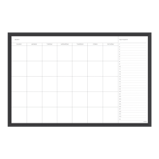 U Brands Magnetic Dry Erase Monthly