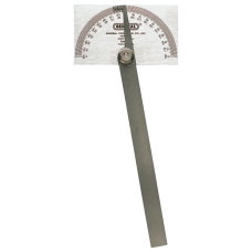 Stainless Steel Protractors 6 in Square