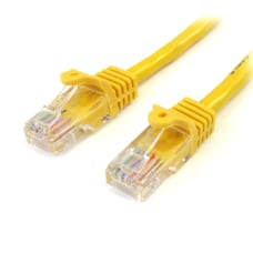 StarTechcom 15 ft Yellow Snagless Cat5e