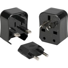 Kanex INTADPBLK Power Plug 3 x