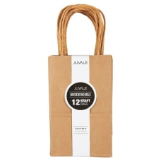 Brown Kraft Bag Birthday Party Gift