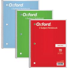 Oxford Spiral Notebook 8 x 10