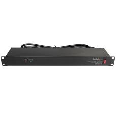 StarTechcom 1U Rackmount 8 Outlet PDU
