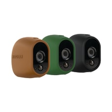 Arlo Wireless Camera Cases BrownGrayBlack Pack