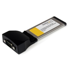 StarTechcom 1 Port Native ExpressCard RS232
