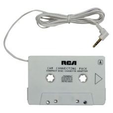 RCA Audio Cassette Adapter Mini phone