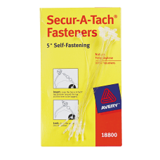 Secur A Tach Plastic Tag Fasteners