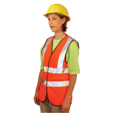 Class 2 Solid Vests with 3M