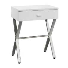 Monarch Specialties Nicole Accent Table 22
