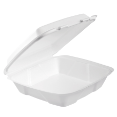 Dart Hinged Lid Foam Containers 3