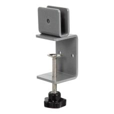 Boss Office Products Plexiglas Panel Desk