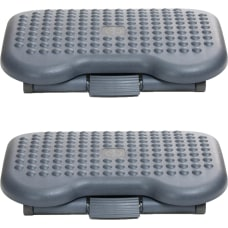 Mind Reader Adjustable Footrests 44 H