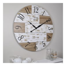 FirsTime Co Harper Pallets Wall Clock