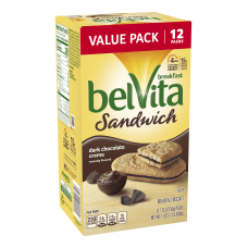 BELVITA Breakfast Biscuit Sandwich Dark Chocolate