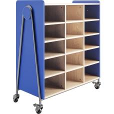 Safco Whiffle Triple Column 15 Shelf