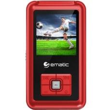 Ematic EM208VID 8 GB Red Flash