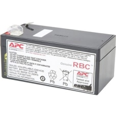 APC Replacement Battery Cartridge 35 Spill