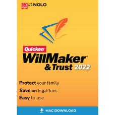 Nolo Quicken WillMaker Trust 2022 Mac