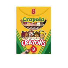 Crayola Multicultural Crayons Assorted Colors Box
