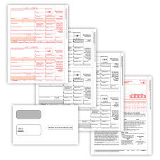 ComplyRight 1099 MISC Tax Forms Set