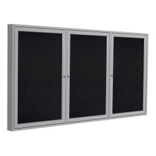 Ghent 3 Door Enclosed Recycled Rubber