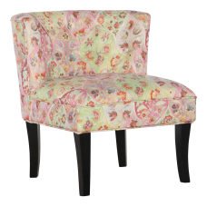 Powell Caprice Accent Chair BlackMulticolor