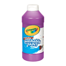 Crayola Washable Paint Violet 16 Oz