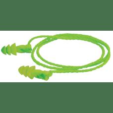 JETZ Reusable Earplugs TPE Bright Green