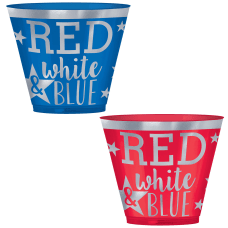 Amscan Patriotic Red White And Blue