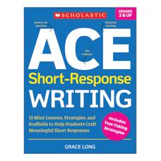 Scholastic ACE Short Response Writing Activity