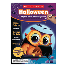Scholastic Halloween Wipe Clean Activity Book