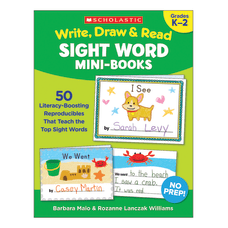 Scholastic Write Draw Read Sight Word
