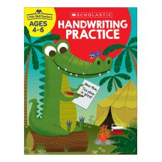 Scholastic Little Skill Seekers Handwriting Practice