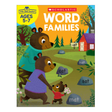 Scholastic Little Skill Seekers Word Families