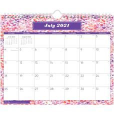 Blue Sky Monthly Wall Calendar 8