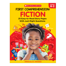 Scholastic First Comprehension Fiction Kindergarten To