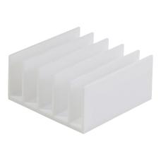 Realspace White Plastic 5 Compartments Desk