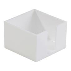 Realspace White Plastic Memo Holder