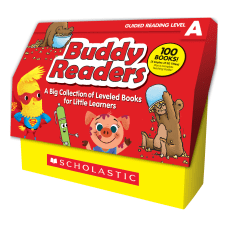 Scholastic Buddy Readers Level A Books