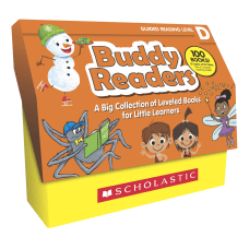 Scholastic Buddy Readers Level D Books