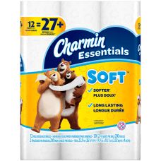 Charmin Essentials Soft 2 Ply Toilet