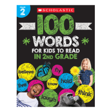 Scholastic 100 Words For Kids To