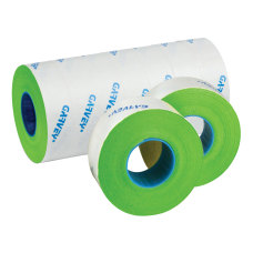 Garvey Price Marking Labels Fluorescent Green