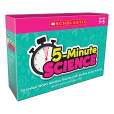 Scholastic 5 Minute Science Kit Grades