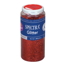 Pacon Glitter Shaker Top Can Red