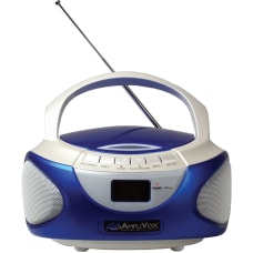 AmpliVox CD Boombox with Bluetooth 1