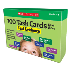 Scholastic 100 Task Cards In A