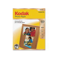 Kodak Glossy Photo Paper Letter Size