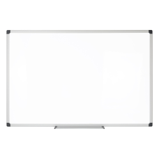 FORAY Magnetic Dry Erase Whiteboard Steel
