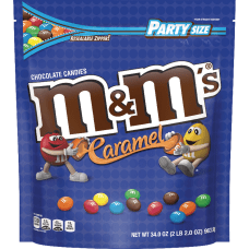 M Ms Caramel Chocolate Candies Chocolate